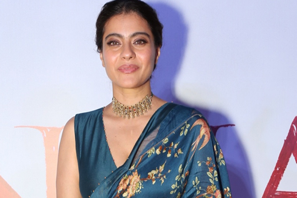"New Delhi: Actress Kajol Devgn at the second trailer launch and press conference of her upcoming film ""Tanhaji: The Unsung Warrior"" in New Delhi on Dec 16, 2019. (Photo: Amlan Paliwal/IANS)"