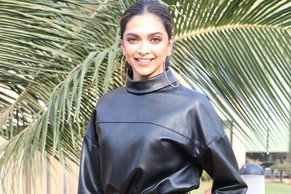 "Mumbai: Actress Deepika Padukone during the promotions of her upcoming upcoming film ""Chhapaak"" in Mumbai on Jan 2, 2020. (Photo: IANS)"