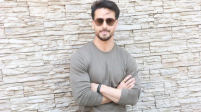 """Mumbai: Actor Tiger Shroff during the promotions of his upcoming film """"Baaghi 3"""" in Mumbai on Feb 25, 2020. (Photo: IANS)"""