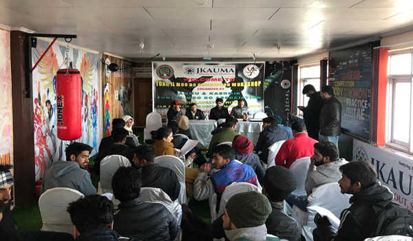 771de2b3ee J&K to host 'Tong-IL-Moo-Do national' in April, orientation for ...