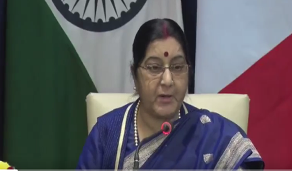 Sushma names Pak & JeM, pushes for 'zero tolerance' against terror at RIC