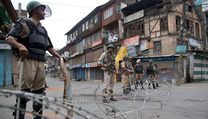 Kashmir shutdown zee news