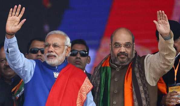 BJP goes by text book formula: Modi in Varanasi - Rajnath, Gadkari renominated