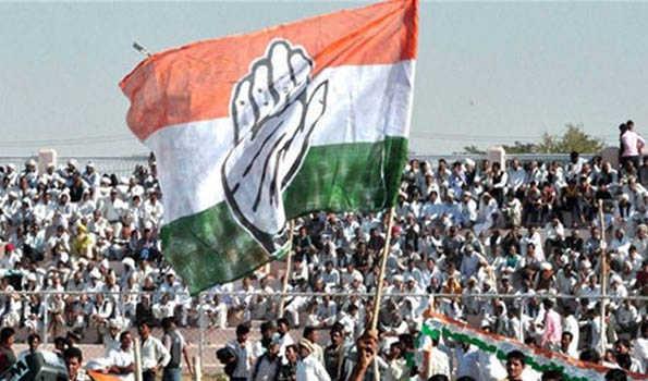 Congress flag UNI