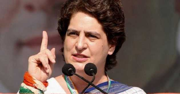 Priyanka in Amethi to review Congress' poll preparedness