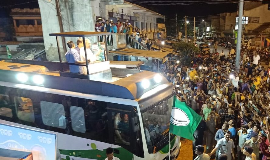 naveen bus campaign 2