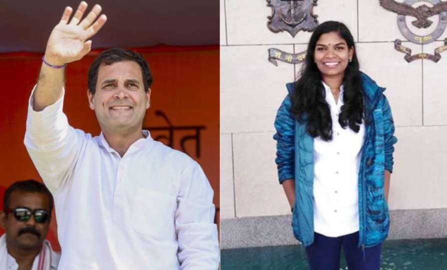 Rahul Gandhi congratulates Wayanad tribal girl who cleared civil service