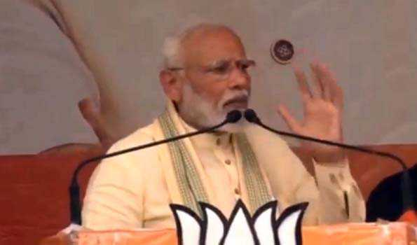 , PM Modi says the results of Lok Sabha elections will decide the pace of development