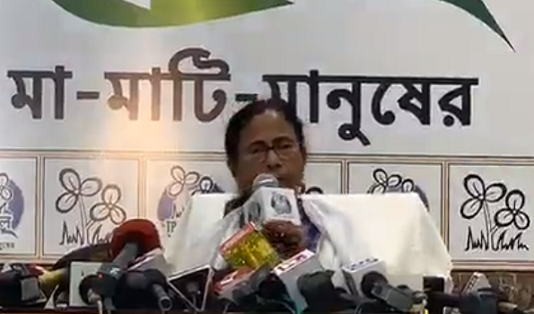 , Never seen such political violence in Kolkata: Mamata; TMC leaders change Twitter DP as a mark of protest