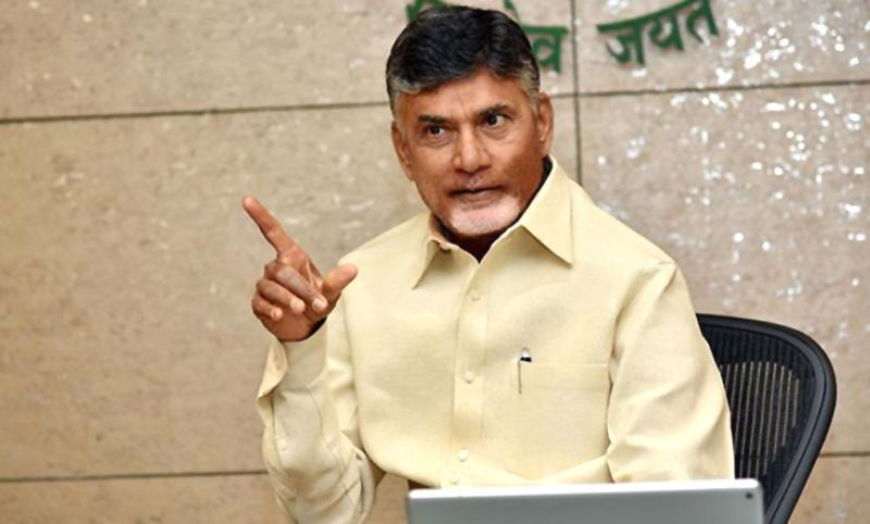 Non-BJP parties will hold 'dharna' at ECI office on Tuesday: Naidu