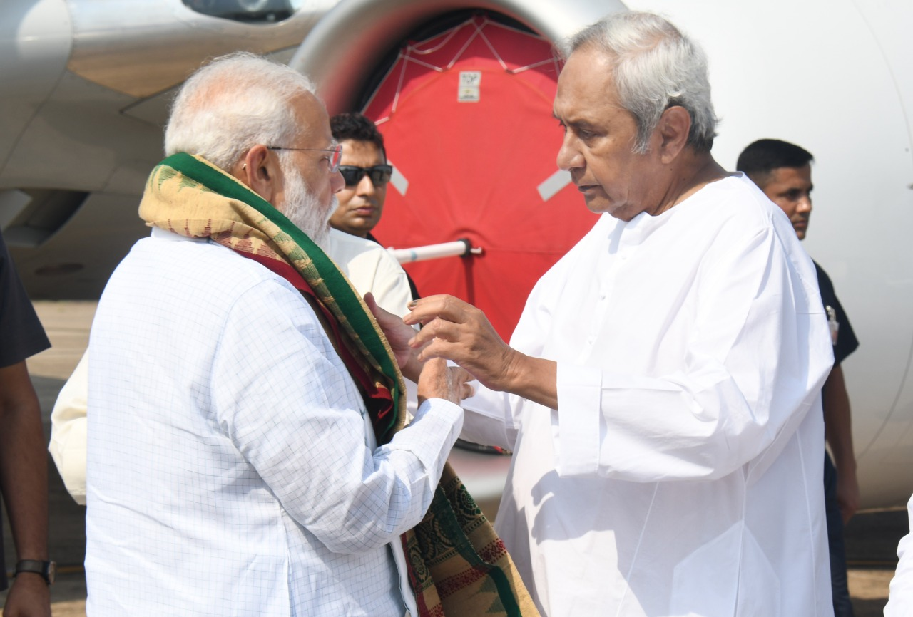 pm announced noe thousand crore assitance for Odisha cyclone