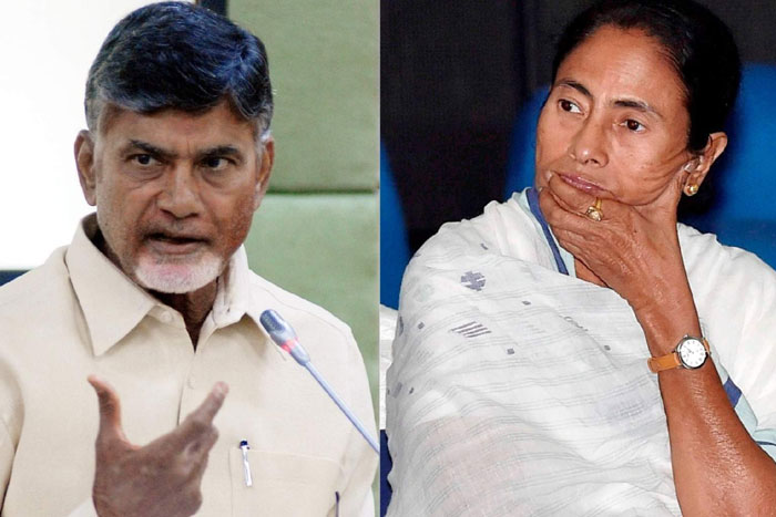 Exit poll, 'game plan is to manipulate or replace thousands of EVMs': Mamata, Naidu to meet her