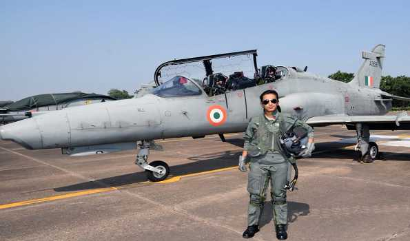 Mohna Singh becomes 1st woman fighter pilot Ops by day on Hawk