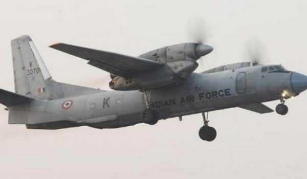 IAF cracsh
