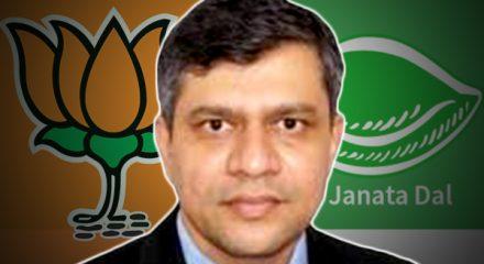 Uproar in Odisha Assembly over BJD's support to BJP Rajya Sabha candidate Aswani Vaishnav