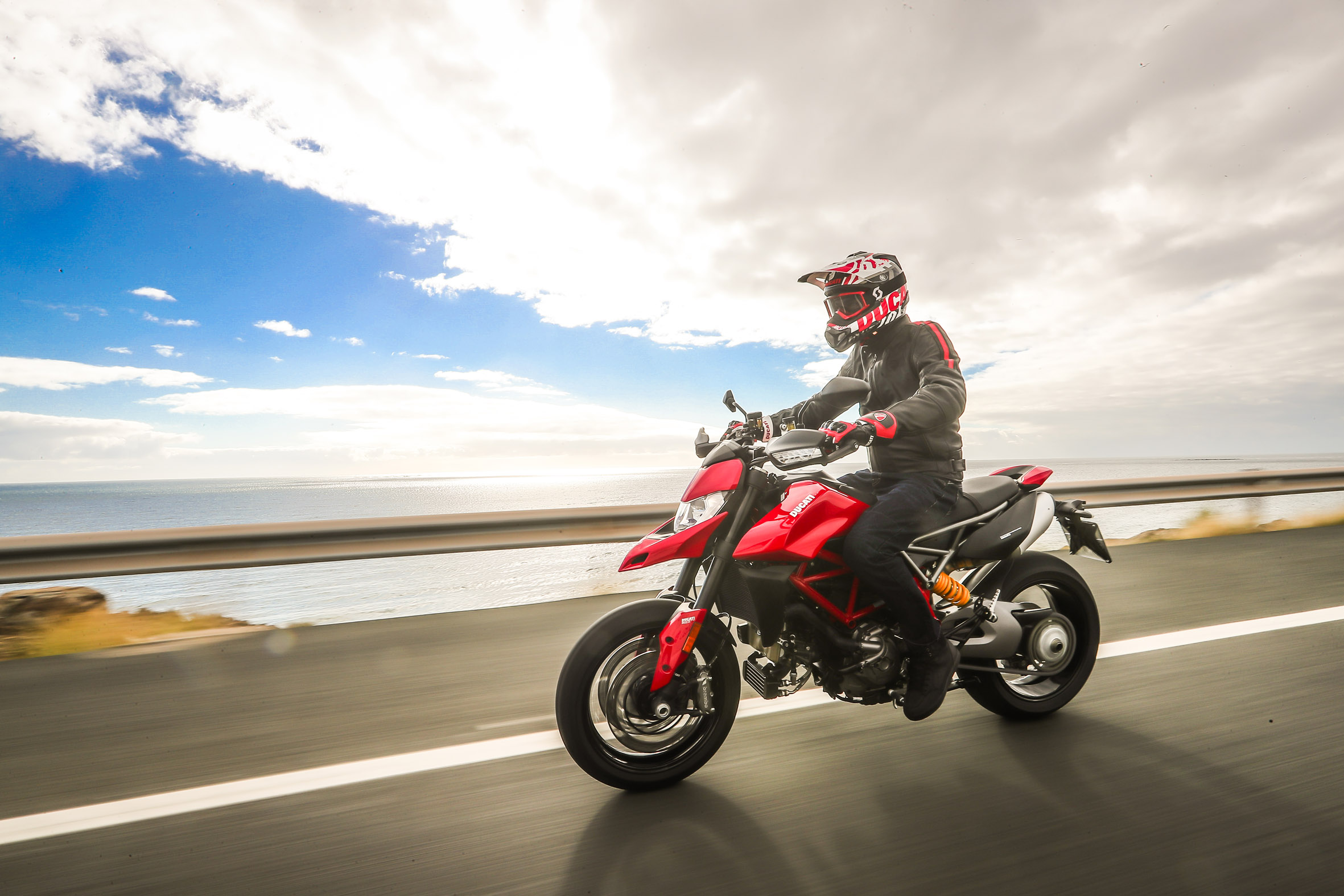 , Luxury motorcycle brand Ducati launches its all-new Hypermotard 950 power bike in India
