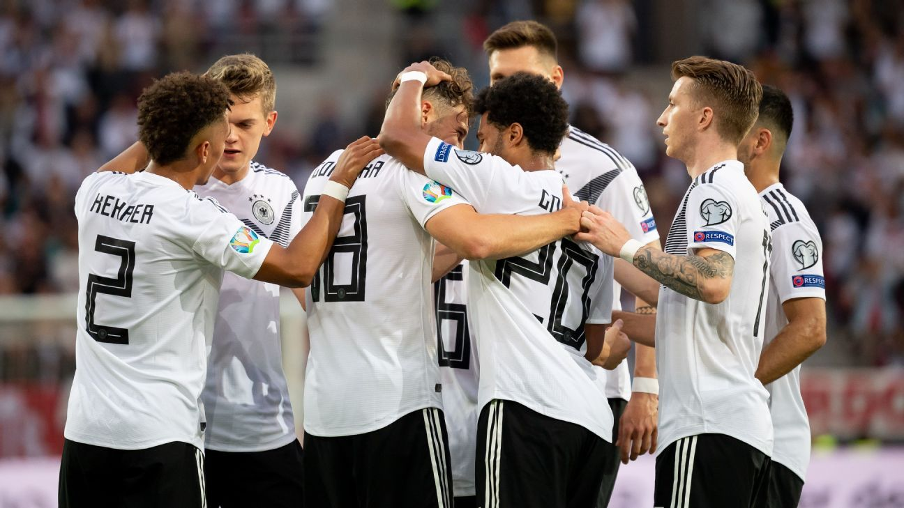 , Germany crush Estonia 8-0 in 2020 UEFA Euro qualifier