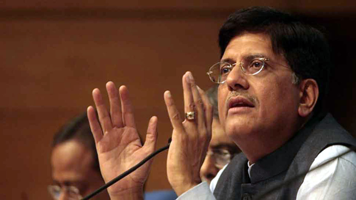Piyush Goyal made veiled attack on Ashok Ghelot On non-cooperation statement on Rly projects