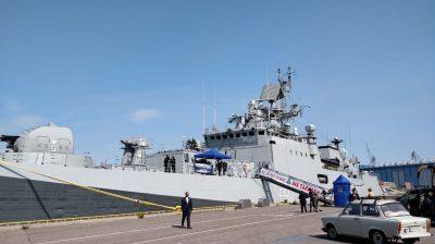 Indian Naval Ship Tarkash arrived at Helsinki, in Finland on Wednesday.