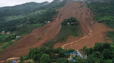 24 killed, 27 missing in SW China landslide