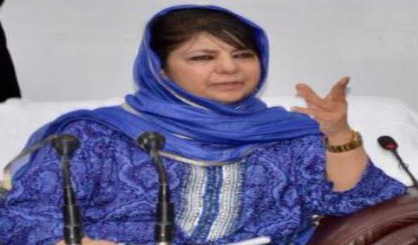 , 'Cong free bharat' is just an excuse for disempowering other political parties: Mehbooba
