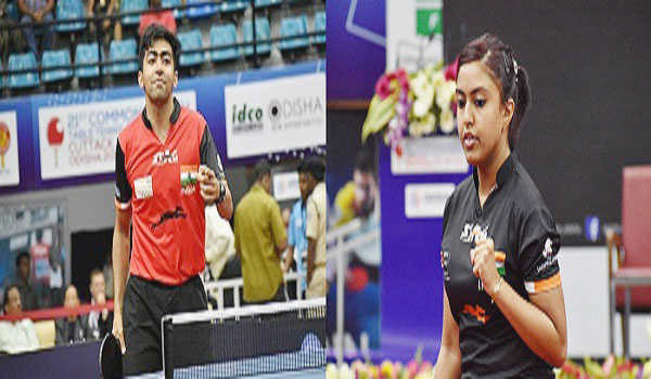 7 out of 7: Indians complete golden sweep; Harmeet and Ayhika emerge singles winners