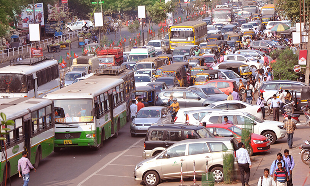 Mere tag of a capital city not enough, traffic problem spirals out of control