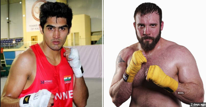 Vijender Singh beats Mike Snider on his US debut, registers 11th consecutive victory