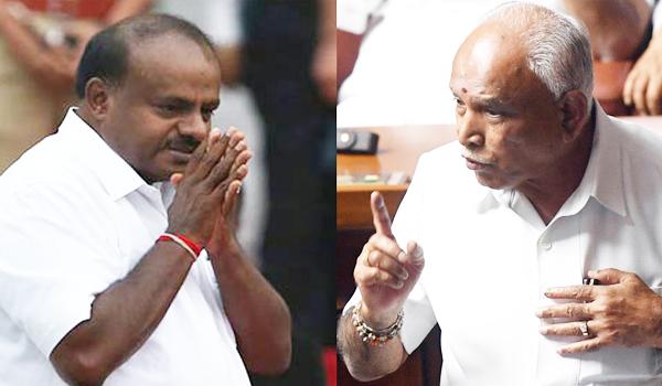 Well designed game plans of BJP brings Karnataka government near to disintegration