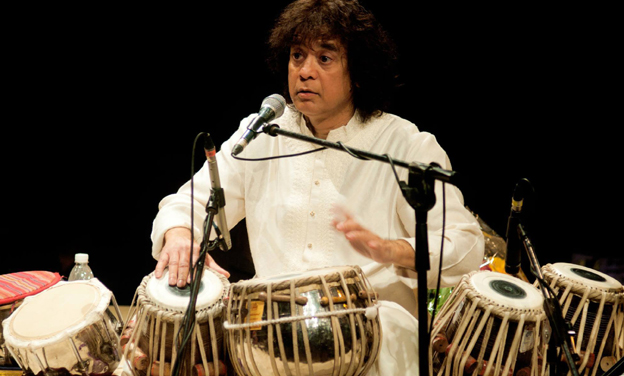 Grand fusion: Ustad Zakir Hussain and Jazz Legend Louiz Banks to perform together for Indian Music Experience on July 27uly 27 i