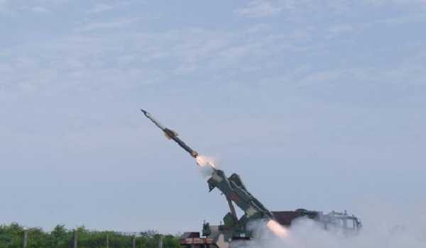 Syrian air defenses respond to missile attack