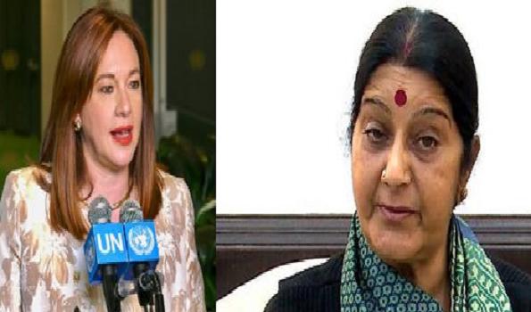 President of UN General Assembly condoles Sushma's death