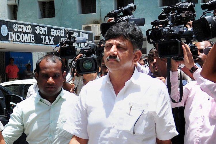 Karnataka Cong leader DK Shivakumar reaches Delhi to appear before ED