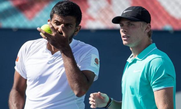 Bopanna/Shapovalov win; Paes/Duran lose in doubles first round in US Open
