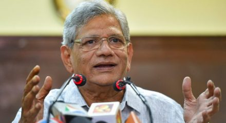 Yechury asks Centre to release GST dues to states