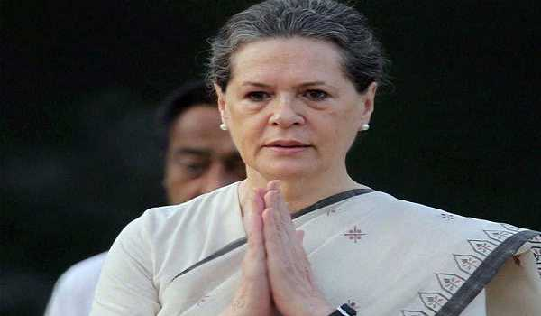 Sonia Gandhi appointed as new interim Congress president
