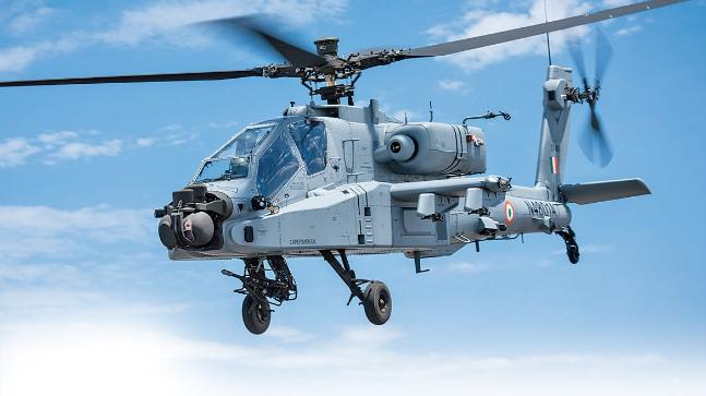 Indian Air Force formally inducts 8 Apache choppers at Pathankot air base
