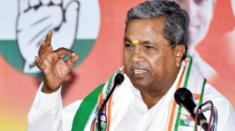 BJP has indulged in vendetta politics against the Congress leaders in the country: Siddaramaiah