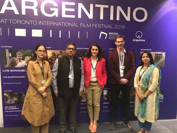 India enjoys center stage, INCAA invites India to participate in Argentina's 'Mar del Plata Film Festival', 'Ventana Sur 2019'