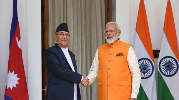 Nepal Premier wishes PM Modi on his 69th birthday