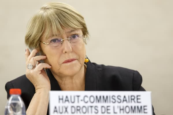 UN human rights chief expresses concern about US, EU migration policies