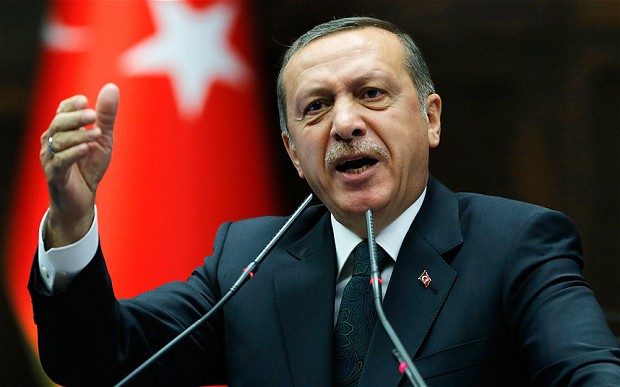 War on Syria to go on! Erdogan Tells Johnson Ankara to continue offensive until removal of IS, PKK threats