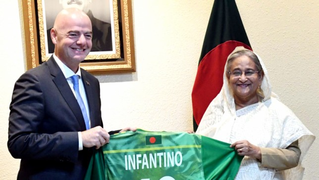 FIFA to continue its support to Bangladesh football