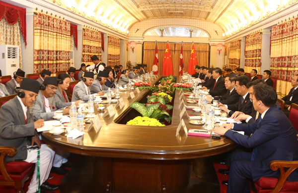 Chinese Prez announces Rs 56 billion assistance for Nepal over next two years