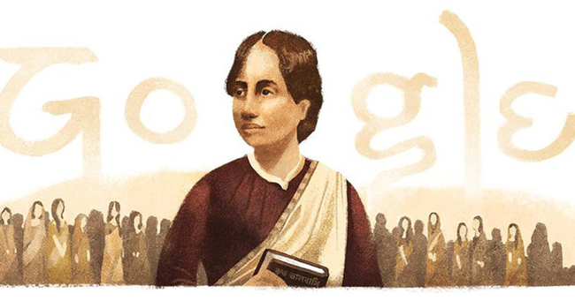 Google honours Bengali poet, educator & activist Kamini Roy with a doodle on her 155th birthday