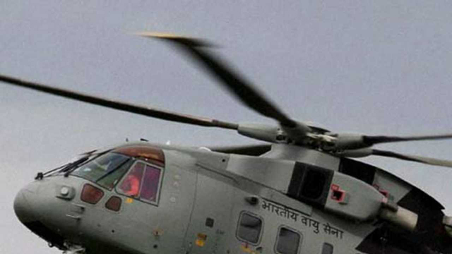 IAF choppers evacuate crashed civilian aircraft in Kedarnath
