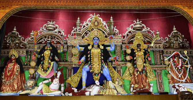 Bengal Govt administration takes measures for a peaceful Kali Puja