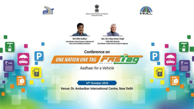 Gadkari to inaugurate conference on 'One Nation One Fastag' on Oct 14
