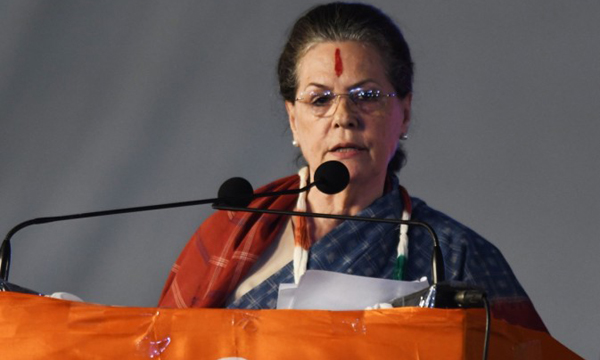 Sonia slams Modi Govt over RTI amendments, says 'final assault' on democratic institutions