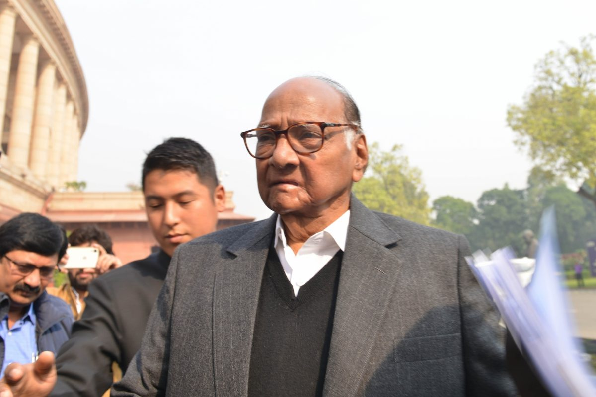 Intimidating politics of BJP! storm in NCP as Sharad Pawar's Delhi home security removed,